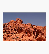 Red Valley III Photographic Print