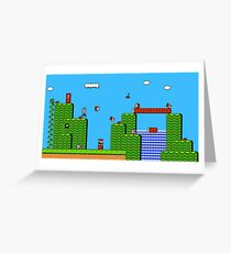 Super Mario Bros 2 Greeting Card