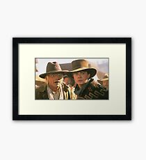 Marty and Doc 1885 Framed Print