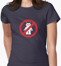 Ban The Bots - Plain and simple Women's Fitted T-Shirt