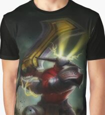 Sven, the Rogue Knight: God's Strength Graphic T-Shirt