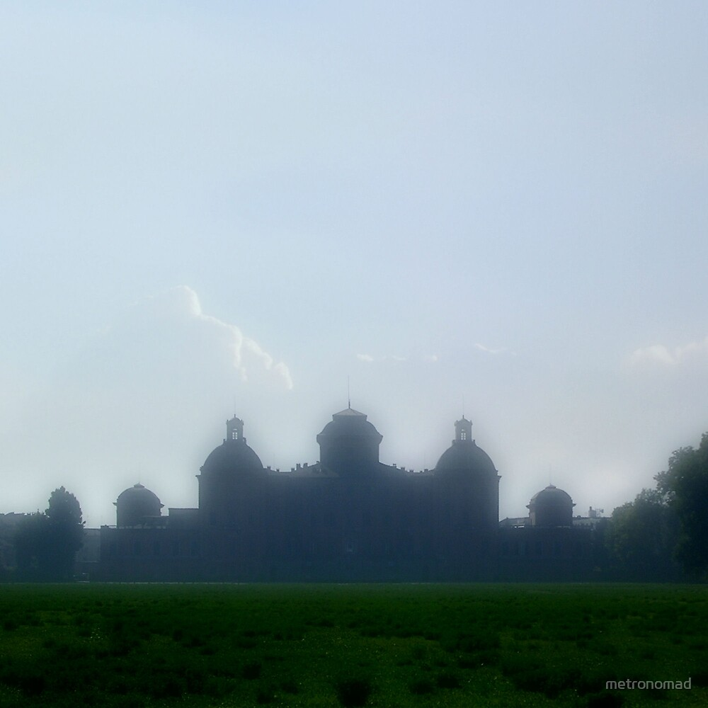 Castle In The Cloud by metronomad