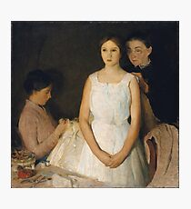 Charles Webster Hawthorne - The Trousseau Photographic Print