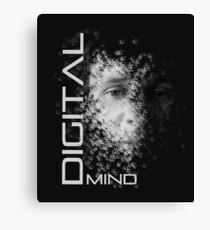 Digital Mind T-Shirt Canvas Print