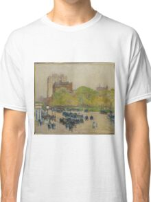 Childe Hassam - Spring Morning In The Heart Of The City Classic T-Shirt