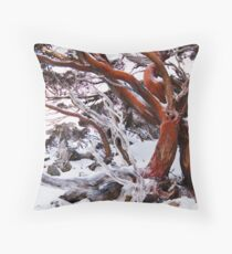 Snow Gum Throw Pillow