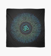 Pranava Yoga. Shanti Om. Mandala Scarf