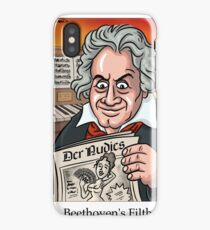 Beethoven's Filth iPhone Case/Skin
