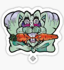 Rabbit high Sticker