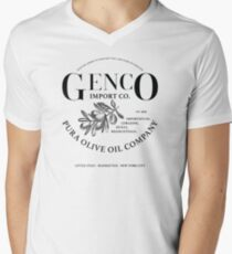 The Godfather - Genko Olive Oil Company Variant Mens V-Neck T-Shirt