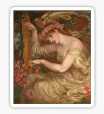 Dante Gabriel Rossetti - A Sea-Spell Sticker