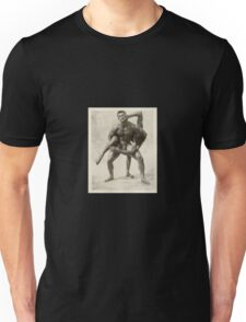 SPORTS / Two Wrestlers Unisex T-Shirt