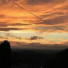 Electric Sunset, West Malvern by LisaRoberts