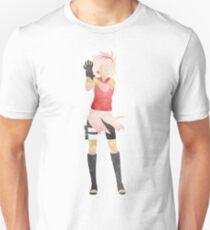 Sakura Haruno Cutout Unisex T-Shirt