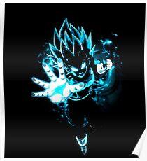 Vegeta super saiyan blue Poster