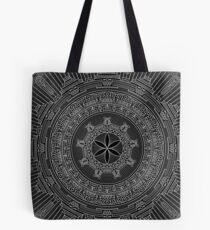 January Mandala v2. 2017 Tote Bag