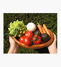 appetizing vegetables  Photographic Print
