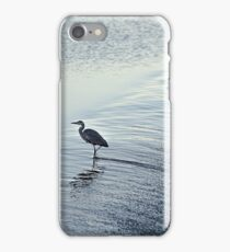 Garzas en el azud iPhone Case/Skin