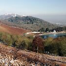 British Camp Reservoir and The Malverns by LisaRoberts