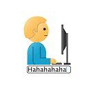 Fake Laugh Emoji by Teo Zirinis