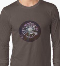 Floral Fireworks. Dark Floral Long Sleeve T-Shirt