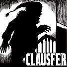 Clausferatu Christmas Card by ZugArt