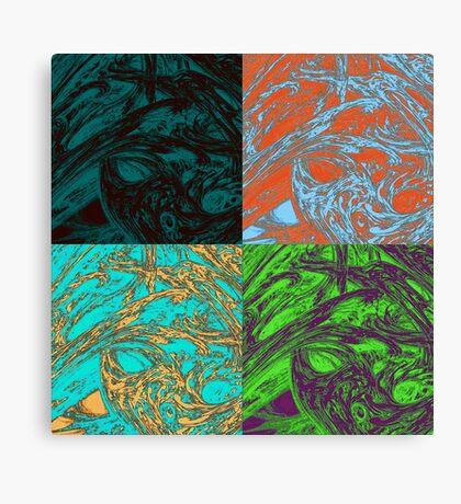 Foursome #1 Canvas Print