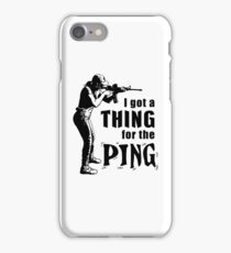 Thing for the Ping iPhone Case/Skin