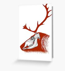 Rudolph the Red Reindeer Greeting Card