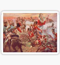 Battle of Quatre Bras 1815 Sticker