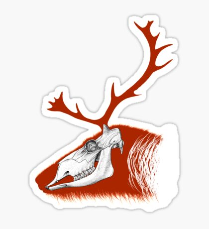 Rudolph the Red Reindeer Sticker