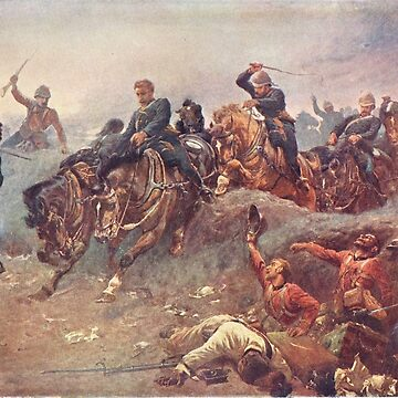 Battle of Tel-El-Kebir 1882 by artfromthepast