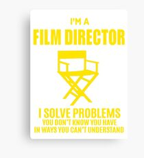 FILM DIRECTOR Canvas Print