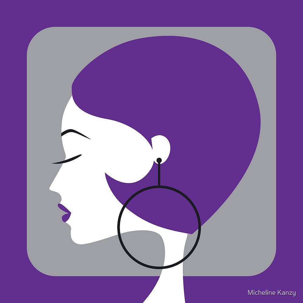 purple by Micheline Kanzy