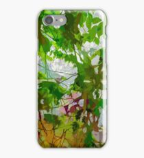 ...curtain of green leaves... iPhone Case/Skin