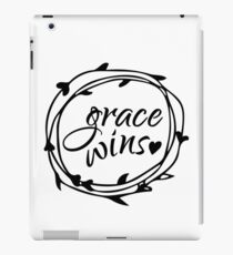 Grace Wins T-Shirts and Phone Cases iPad Case/Skin