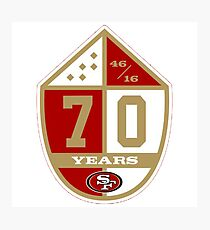 49ers Photographic Print