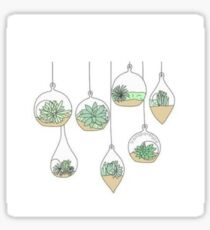 hanging plants  Sticker