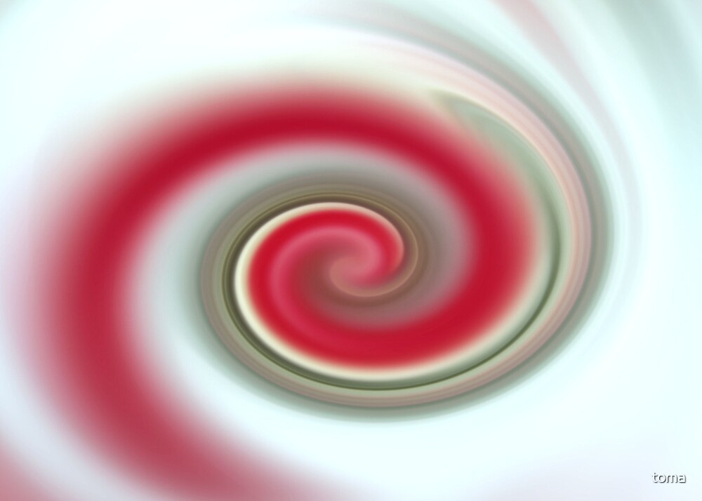 christmas swirl by toma