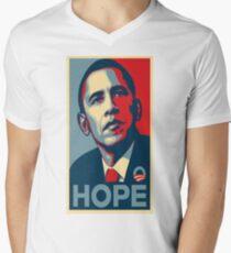 Obama Hope Men's V-Neck T-Shirt