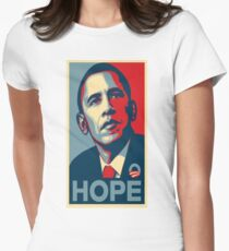 Obama Hope Women's Fitted T-Shirt
