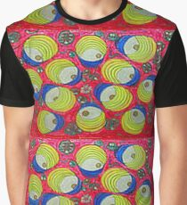 Thai Abstract Acrylic dOOdle Graphic T-Shirt