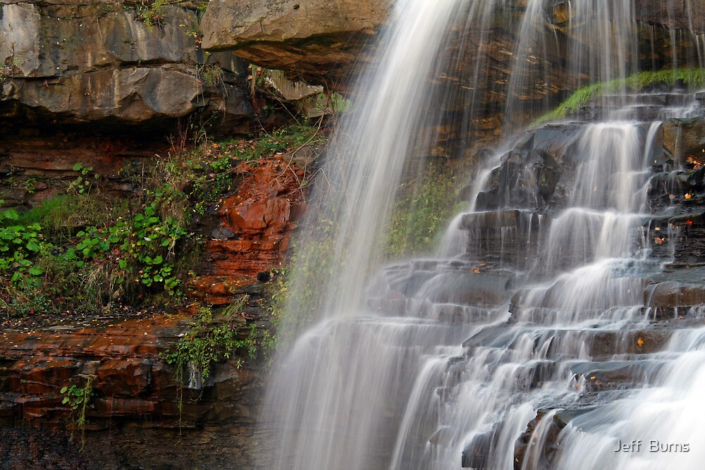 The Falls Of Brandywine by Jeff  Burns