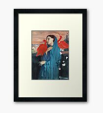 Edgar Degas - Young Woman With Ibis Framed Print
