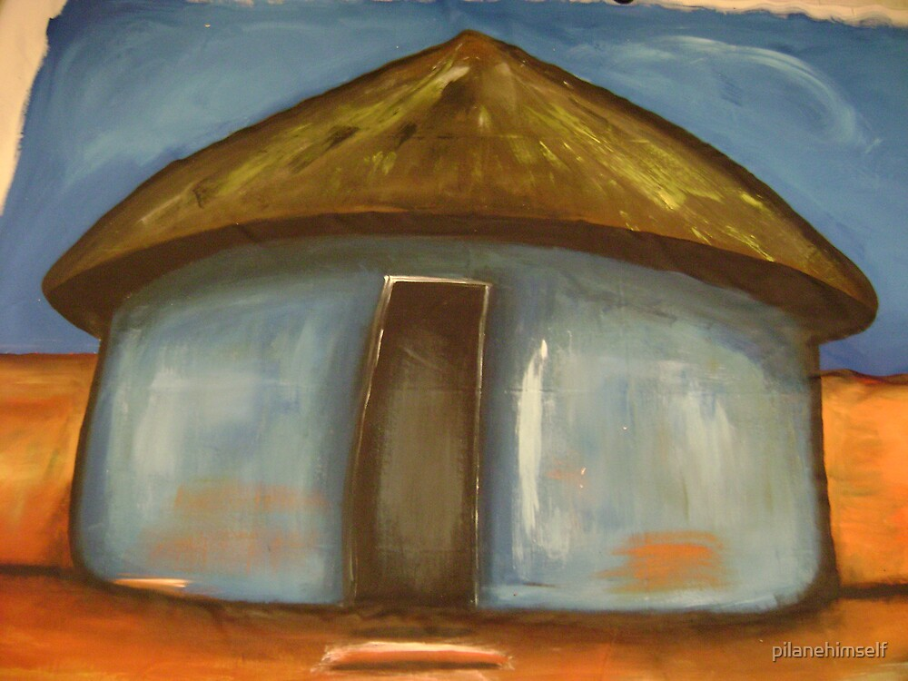 Blue Hut by pilanehimself