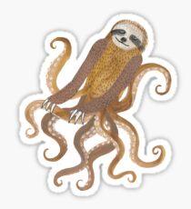 Slothtopus Sticker