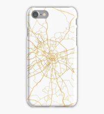 MOSCOW RUSSIA CITY STREET MAP ART iPhone Case/Skin
