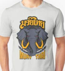Muay Thai Beast Elephant - Thailand Martial Art  Unisex T-Shirt