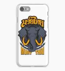 Muay Thai Beast Elephant - Thailand Martial Art  iPhone Case/Skin