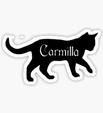 Carmilla the Cat Sticker